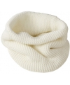 Modieuze ronde sjaals off white